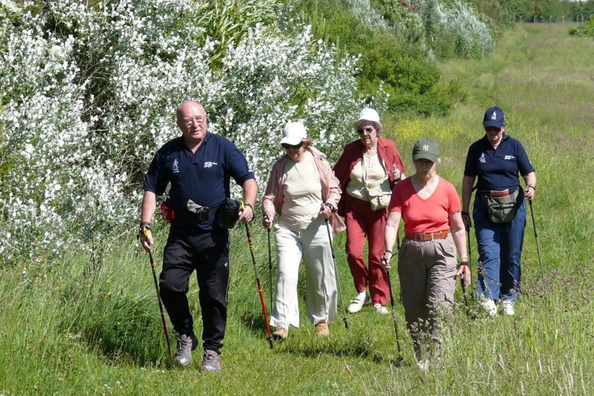 Nordic Walking for balance and fitness
