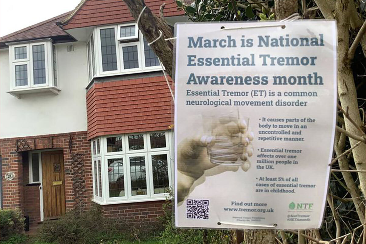 National Essential Tremor Awareness month celebrated by campaigners