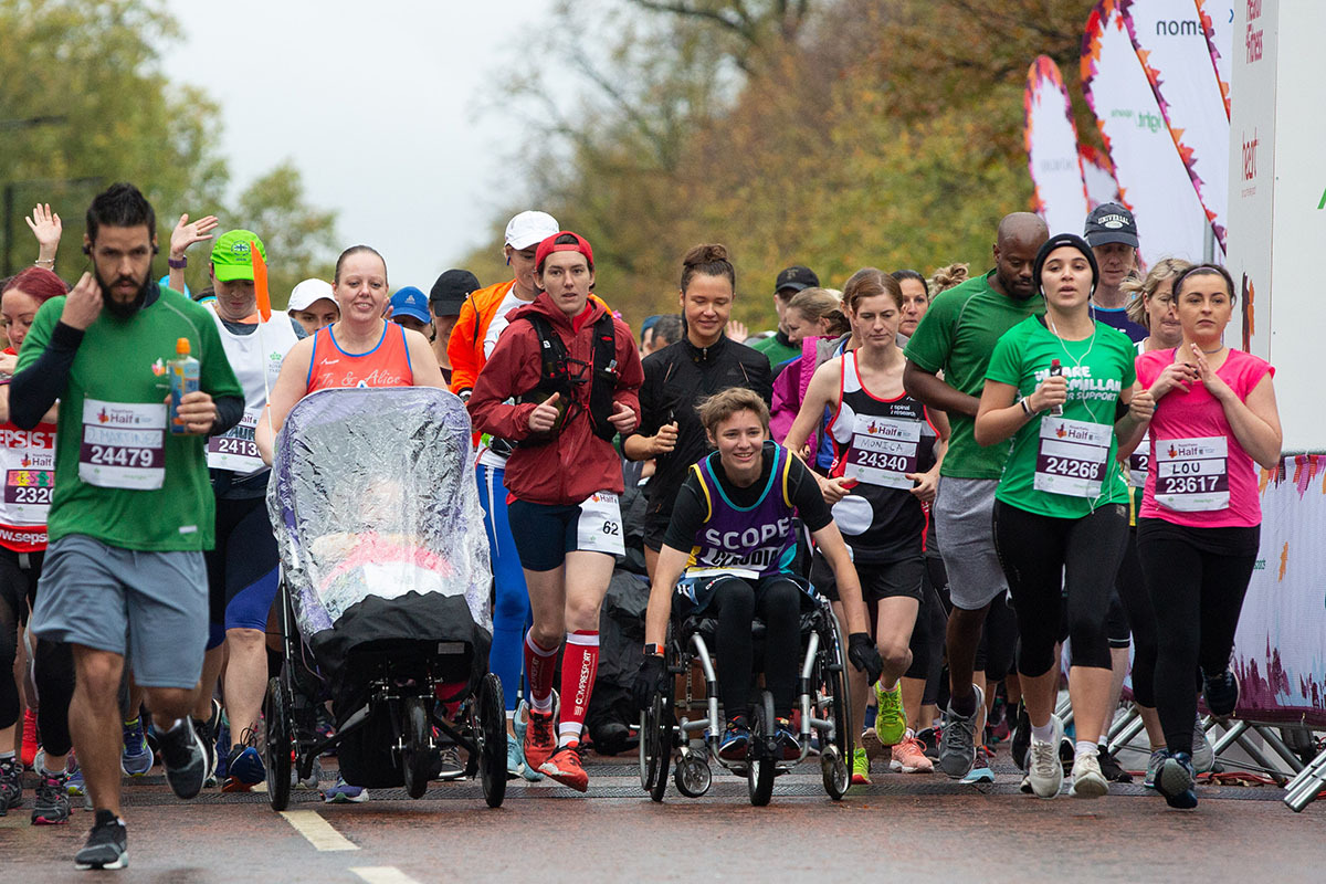 Run the Royal Parks Half Marathon for neurological tremor
